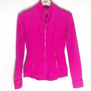 Kirkland Signature hot pink track jacket size S
